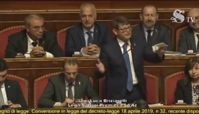 """IL SENATO HA APPROVATO LO """"SBLOCCA CANTIERI"""", L'ITALIA RIALZA LA TESTA"""