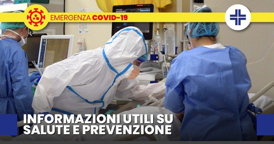 COVID-19, AGGIORNAMENTO SU TEST DIAGNOSTICI