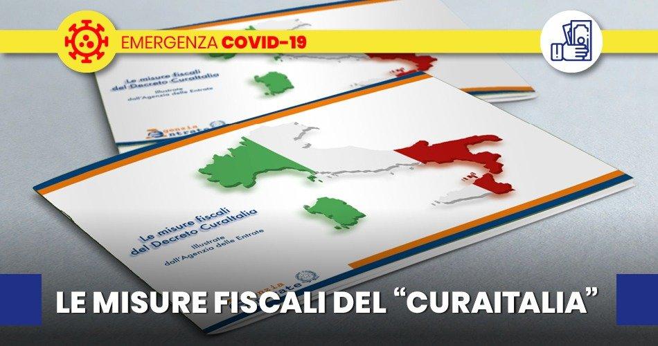 """""""CURAITALIA"""" LE NORME FISCALI  ILLUSTRATE  DALL'AGENZIA DELLE ENTRATE"""