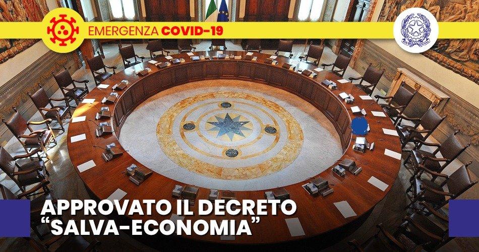 """COVID-19, IL DECRETO """"CURA ITALIA"""", 25 MILIARDI DI EURO PER FAMIGLIE E AZIENDE"""