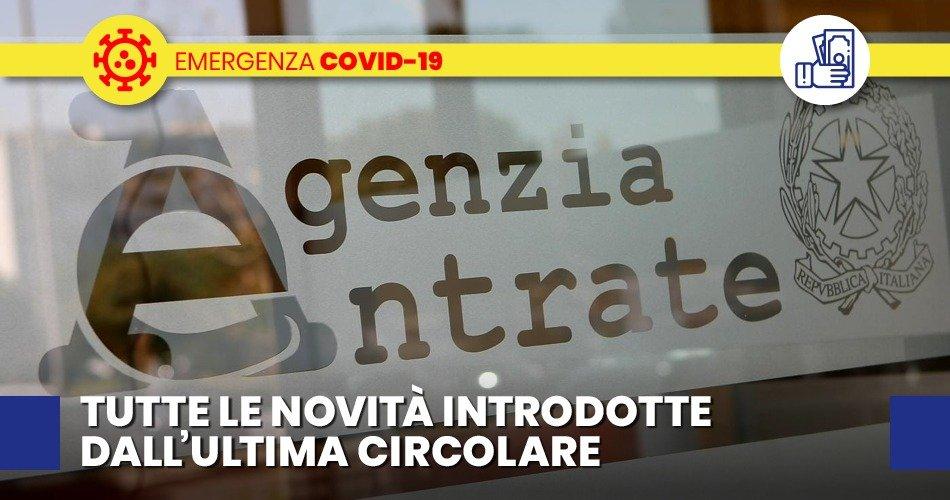 """COVID-19, DECRETO """"CURA ITALIA"""" QUESITI E RISPOSTE A CURA DELL'AGENZIA DELLE ENTRATE"""