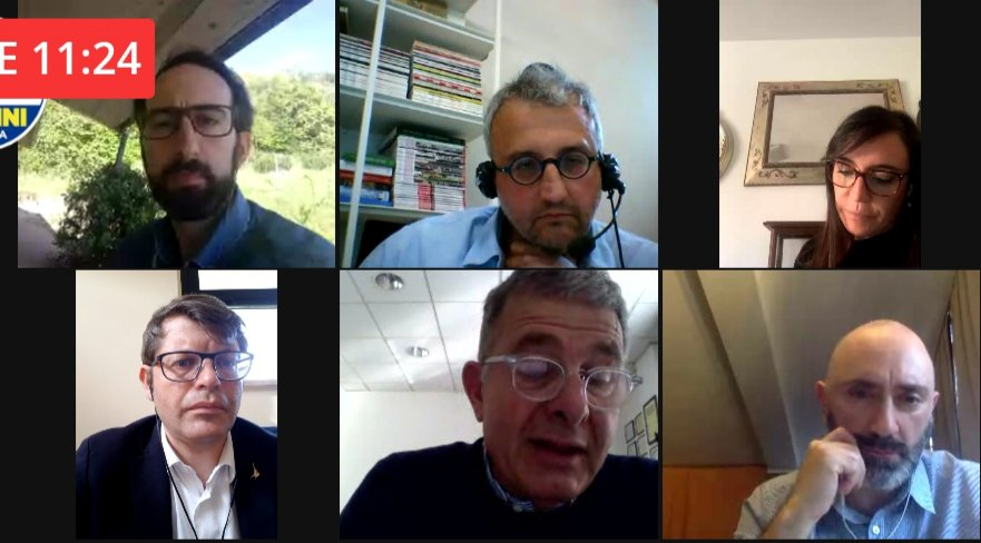 LA LEGA IN VIDEO CALL CON LA RETE PROFESSIONI TECNICHE UMBRIA
