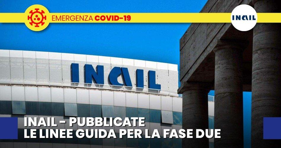 COVID-19, LE LINEE GUIDA DI INAIL PER LA RISTORAZIONE