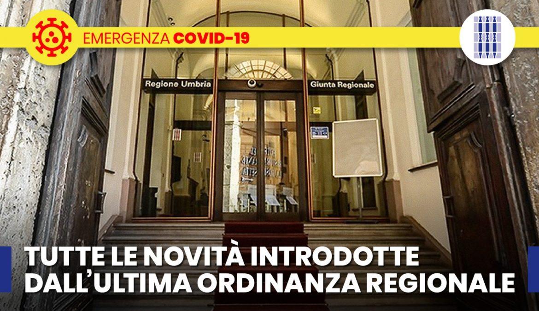 COVID-19, PRESIDENTE TESEI FIRMA ORDINANZA PER RIAPERTURE ULTERIORI ATTIVITA' DAL 15 GIUGNO
