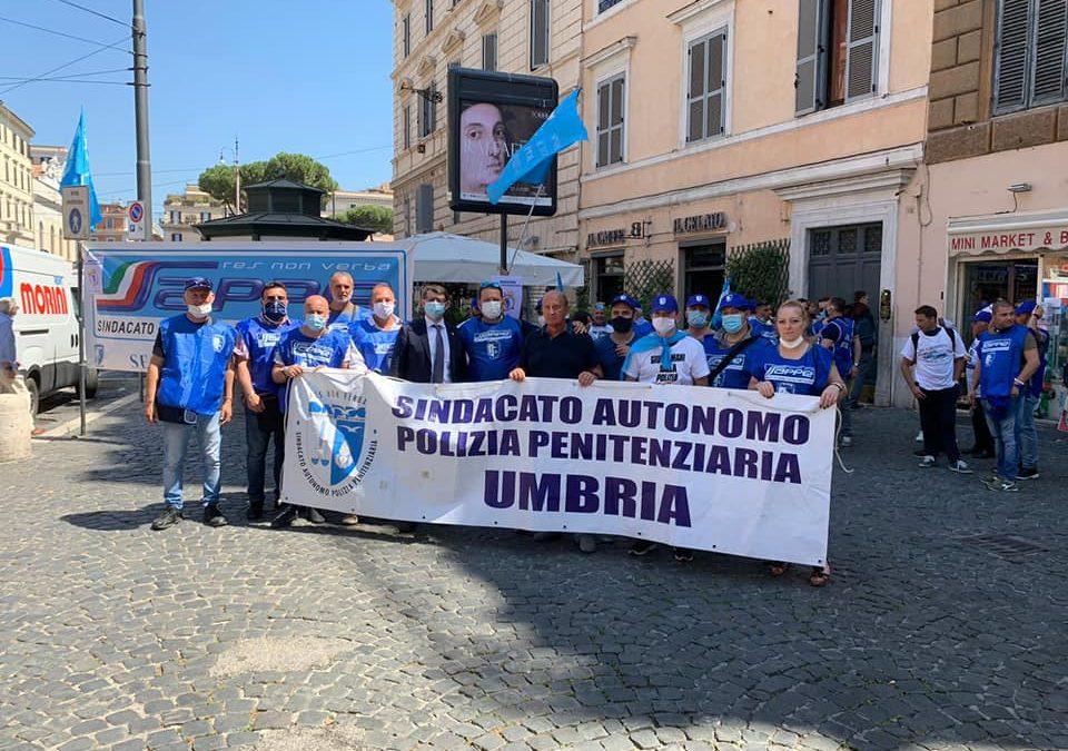 MANIFESTAZIONE SAPPE A ROMA, NOI STIAMO DALLA PARTE DELLA LEGALITA'