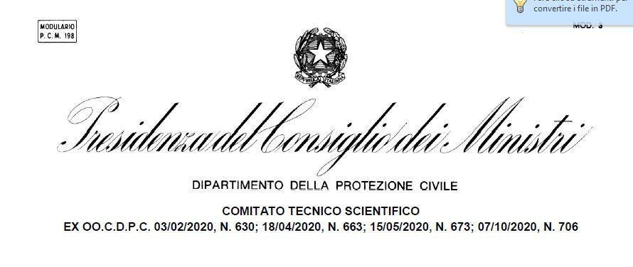COVID-19, RIDEFINIZIONE DELLA QUARANTENA E ISOLAMENTO FIDUCIARIO